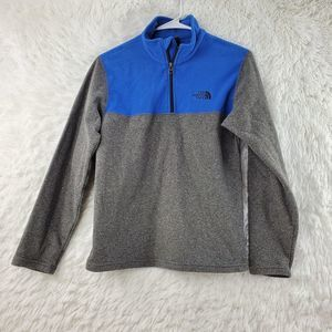 The North Face Youth Color Block Fleece Sweater